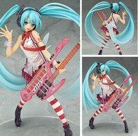 NEW Hot 23cm Hatsune Miku Lead Singer Action Figure Toys Doll Christmas Gift