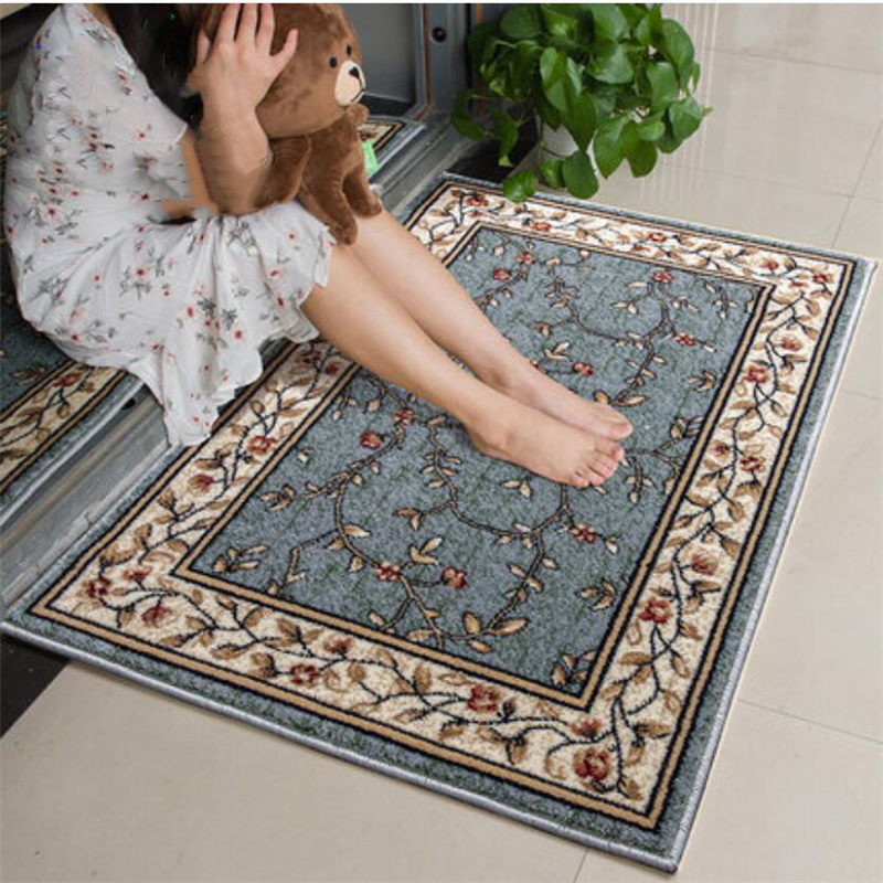 American Style Soft Classical Delicate Carpets For Living Room Bedroom Hallway Door Mat Kitchen Carpet Home