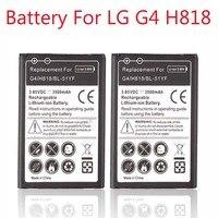 BL-51YF Teléfono Batería de Reserva 2x3500 Mah Batería de Repuesto Para LG G4 H818 H815 H818N VS999 F500S F500K F500L F500 baterías