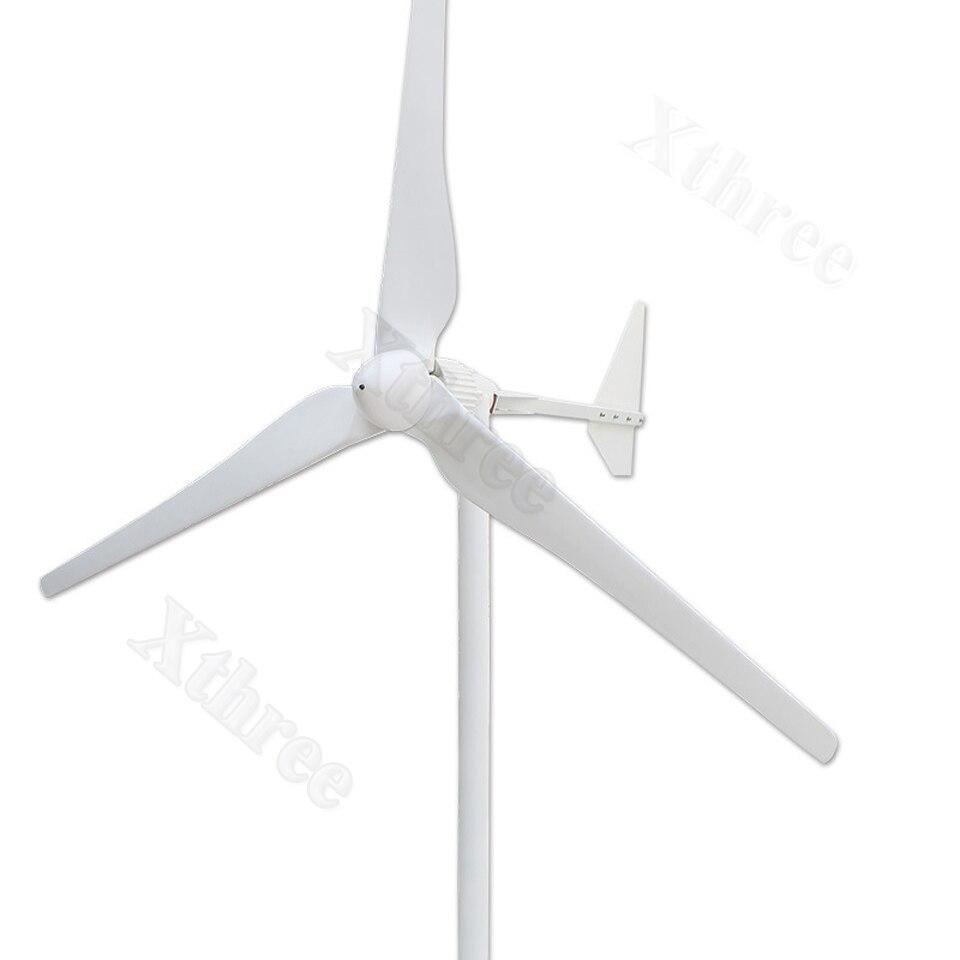 1000 W ~ 2500 W Vento Generatore di Turbina Tre Lame 48/96 V Opzionale Vento generatore di Energia Libera con regolatore del vento Eolico Kit1000 W ~ 2500 W Vento Generatore di Turbina Tre Lame 48/96 V Opzionale Vento generatore di Energia Libera con regolatore del vento Eolico Kit