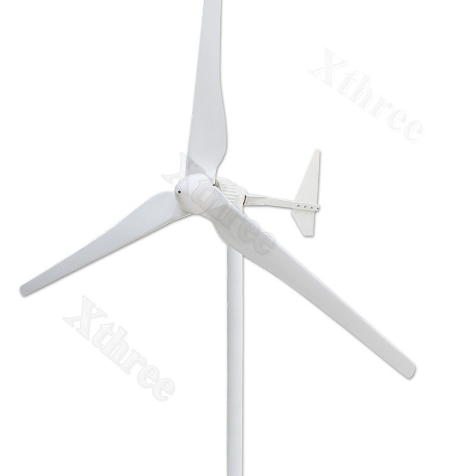 1000W~2500W Wind Turbine Generator Three Blades 48/96V Optional Wind generator Free Energy with Wind Controller Eolico Kit