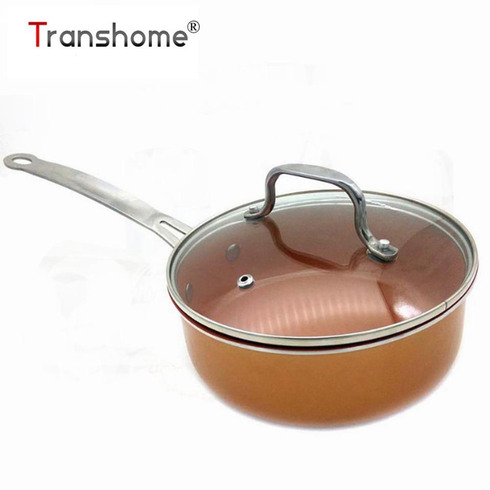 3pc Non Stick Saucepan Milkpan Cookware Cooking Fry Pot Pan Set Glass Lid Ricco
