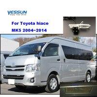Otomobiller ve Motosikletler'ten Araç Kamerası'de Yessun plaka kamera Toyota hiace Için MK5 2004 ~ 2014 Araba Dikiz kamera Park Yardımı