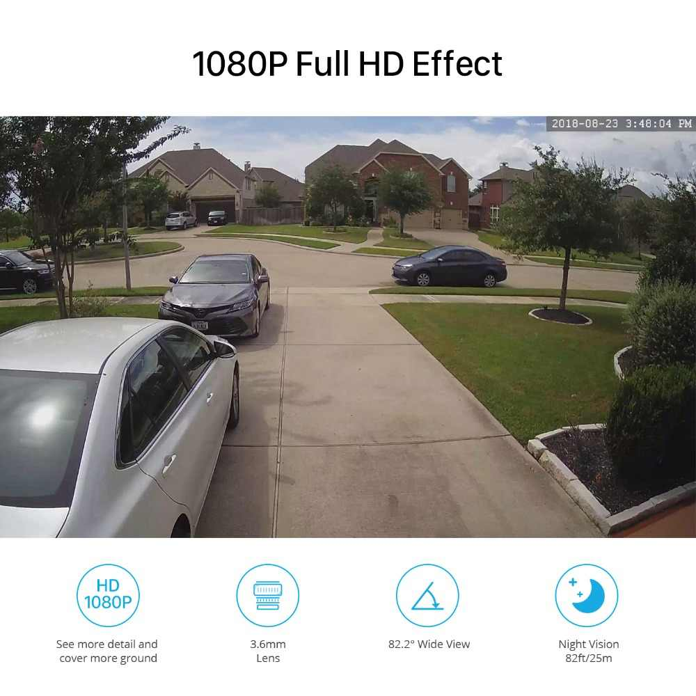 BESDER מלא HD 1080 p IP מצלמה מתכת מקרה IP67 עמיד למים אבטחת בית מצלמה מערכת ONVIF 25 m ראיית לילה P2P RTSP XMEye