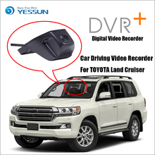 YESSUN для TOYOTA Land Cruiser Видеорегистраторы для автомобилей цифровой вождения видео Регистраторы-спереди тире Камера Передняя камера черный ящик HD 1080 P
