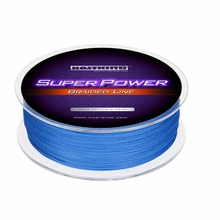 KastKing Brand 300M PE Braided Fishing Line 4 Stands 10-80LB Multifilament Fishing Line for Carp Fishing  Wire for All Fishing