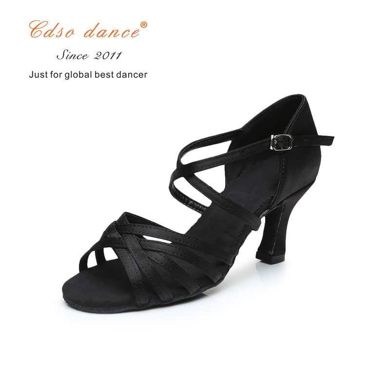 Sneakers Cdso Dance Shoes Satin/pu Popuplar High Quality Latin Dance Shoes For Women/ladies/tango&salsa 5.5cm /7cm Heel Extremely Efficient In Preserving Heat