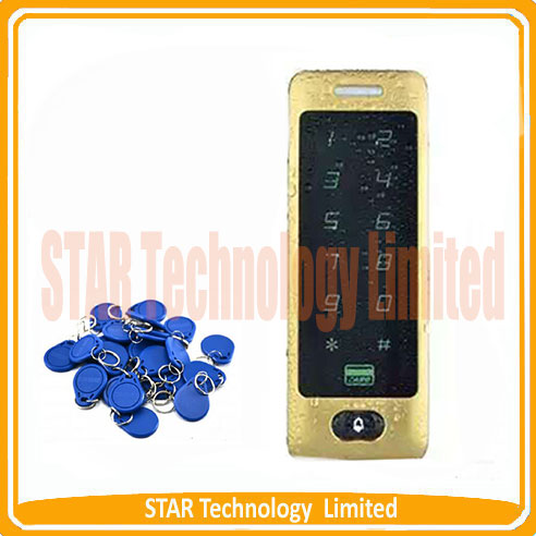 ФОТО Hot selling  IP65 Rfid Access Control Waterproof Outdoor Access Control Em Card Access Controller with Touch Keypad Metal Shell