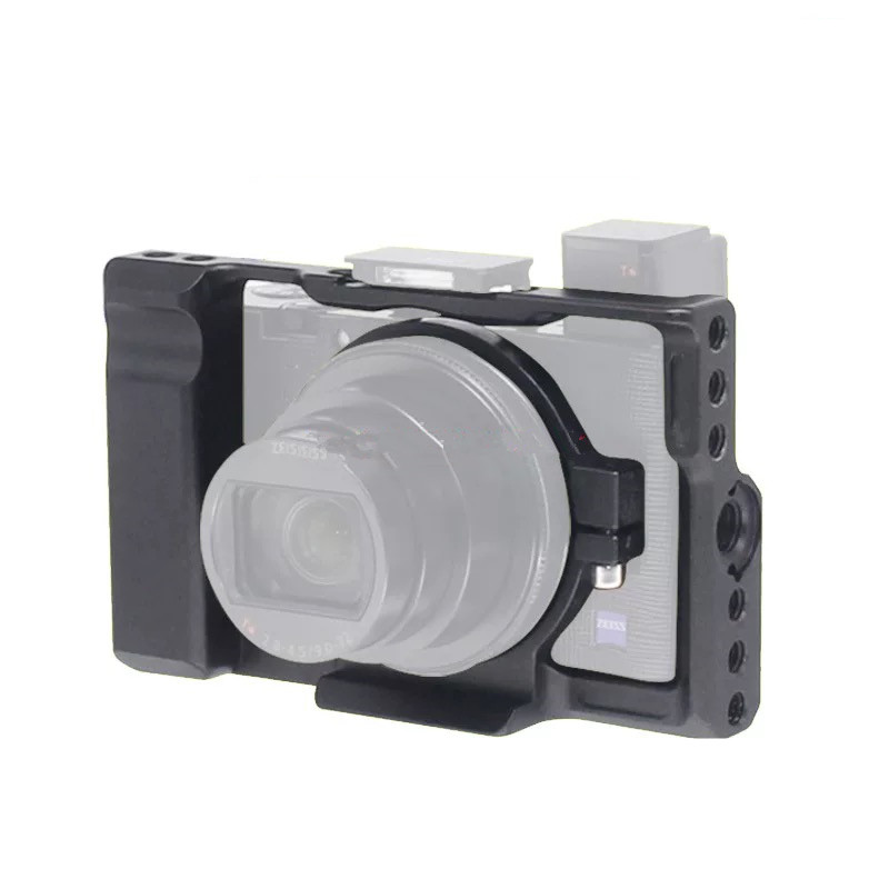 RX100M6 Cage Kit L Quick Release QR Plate Camera Bracket Hand Mount Grip For SONY <font><b>RX100</b></font> VI Grip RX100VI image