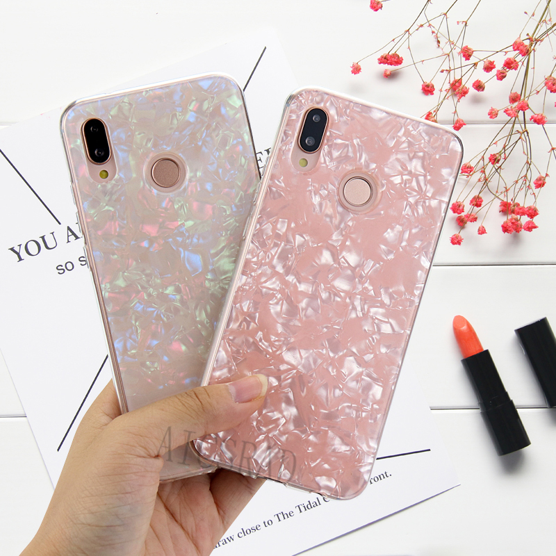 Conch Phone <font><b>Case</b></font> Coque For <font><b>Huawei</b></font> Nova 4 3 3i Mate 20 lite P30 P20 PRO P Smart Y9 <font><b>Y7</b></font> Pro <font><b>2019</b></font> Honor 9 Lite 8X 7X 7A 7C Pro Cover image