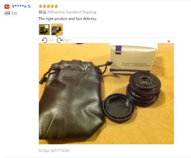 8mm Lungime focală F3.8 Costum pentru ochi pentru ochi cu ochi pe - Camera și fotografia - Fotografie 3