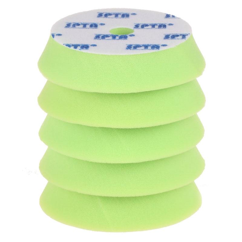 "Mayitr 5pcs 6"" 150mm Sponge Polishing Waxing Buffing Pads Kit Set For Car Polisher Car Wash Accessories"