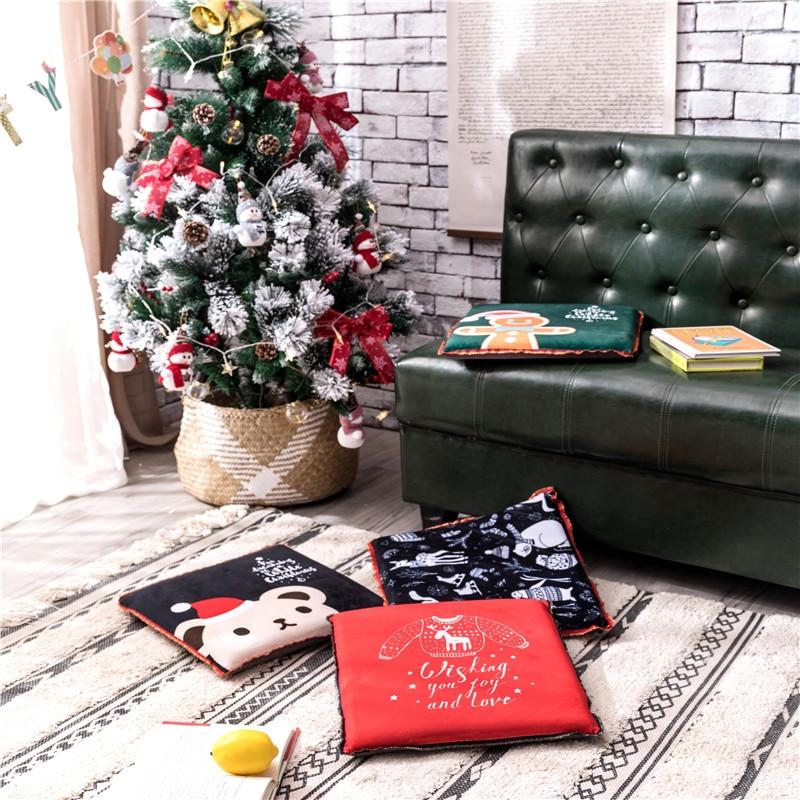 Hot Sale Cheap Creative Cute Pillow Stump Coussin Round Chair Seat 1PCS Cushion Kid Kussens Sofa Throw Pillow Christmas Deals