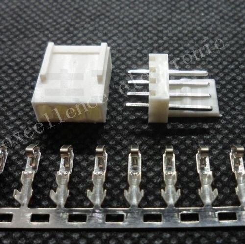 10pcs KF2510-4P 2.54mm Pin Header+Terminal+Housing Connector Kits