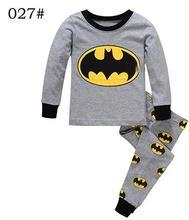 2018 crianças conjuntos de pijama Bebê menina e meninos roupas sweet dreams pijamas do bebê das meninas dos meninos dos desenhos animados manga comprida T-shirt + Calças 2 pcs