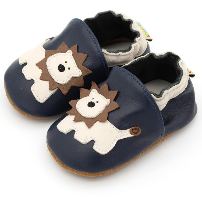 Kids First Walkers Infant Toddler Baby Boy Girl Soft Sole Crib Shoes Genuine Leather Baby Shoes Handmade Newborn Baby Girl Shoes