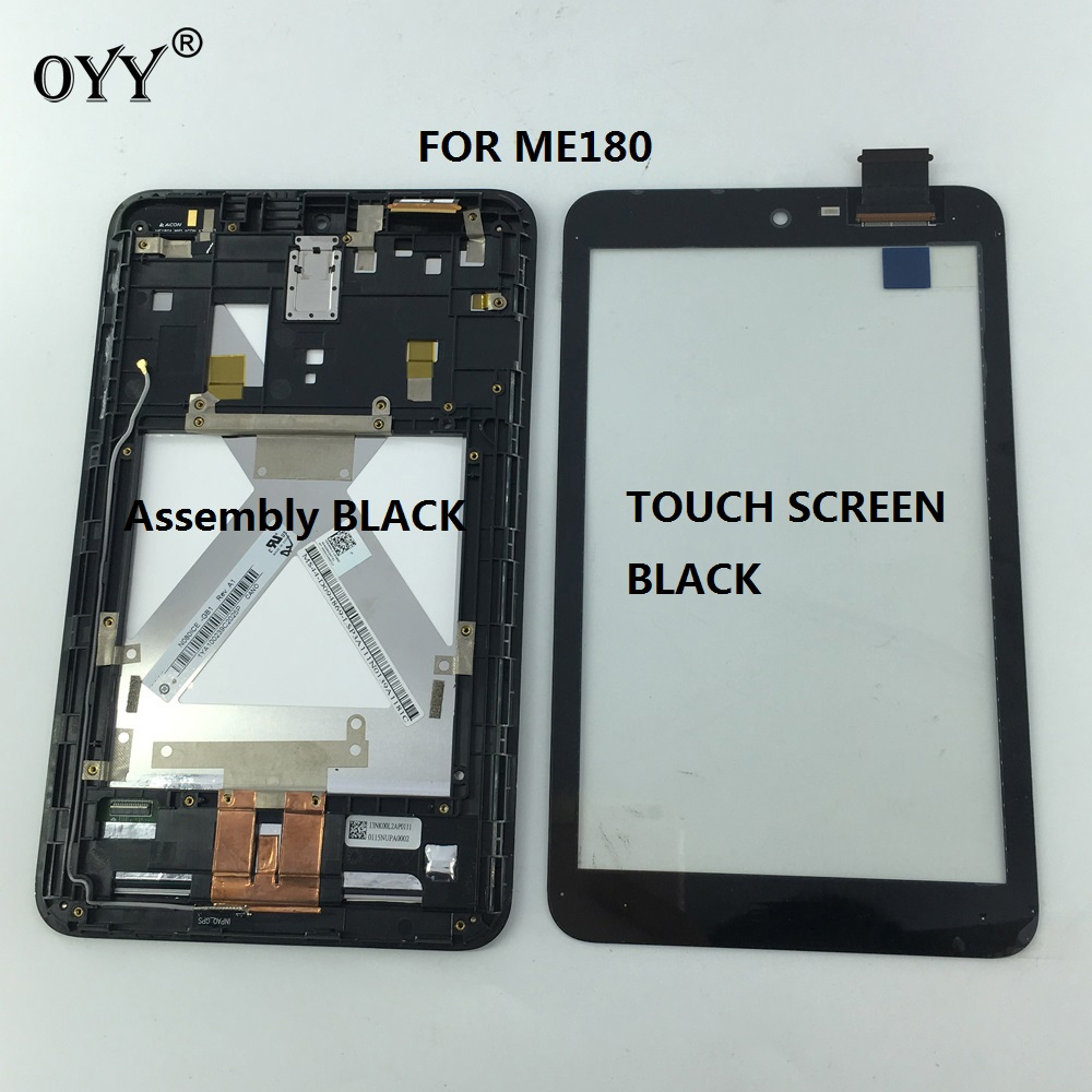 LCD Display Panel Screen Monitor Touch Screen Digitizer Assembly parts For Asus MeMO Pad 8 ME180 ME180A K00L Tablet PC lcd display touch screen with frame digitizer replacement for asus memo pad 8 me181 me181c k011 tablet pc black