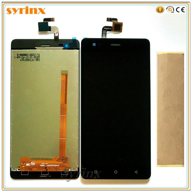 SYRINX + bande téléphone portable affichage LCD pour prefairy o Grace R5 LTE psp5552 psp 5552 duo LCD écran tactile numériseur assemblée