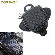 ZORBYZ черный водонепроницаемый магнитный Мотоцикл Алмаз искусственная кожа масляный топливный бак дорожная сумка для Harley 883 1200