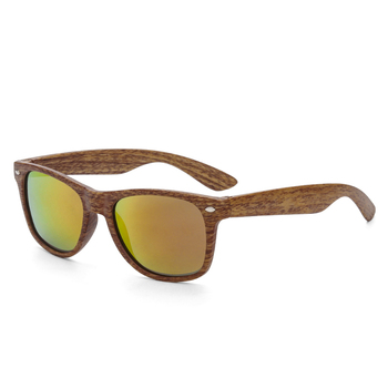 Gafas de Sol Polarizadas con Montura de madera para Hombre y Mujer