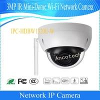 Free Shipping Dahua Original English CMOS Security CCTV 3MP IR Mini Dome Wi Fi Network Camera DH IPC HDBW1320E W