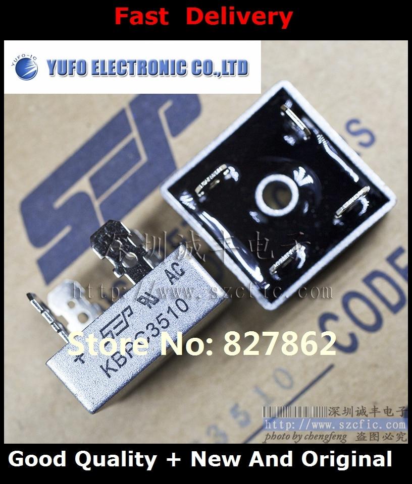 Free Shipping 20PCS KBPC3510 35A 1000V SEP new original authentic bridge rectifier bridge pile (YF1201)