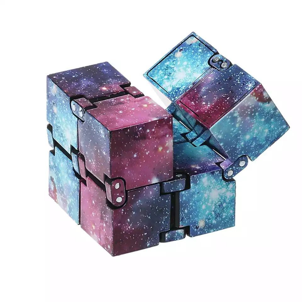 2x2x2 Magic Cube Board Game Toy Infinity Mini Finger EDC Anxiety Stress Relief Blocks Adult Children Kids Funny Toy