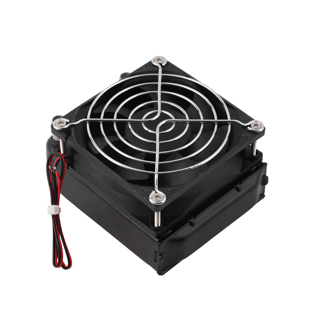 2017 New Arrival Aluminum 80mm Water Cooling cooled Row Heat Exchanger Radiator+Fan for CPU PC Hot radiator cooling fan relay control module for audi a6 c6 s6 4f0959501g 4f0959501c
