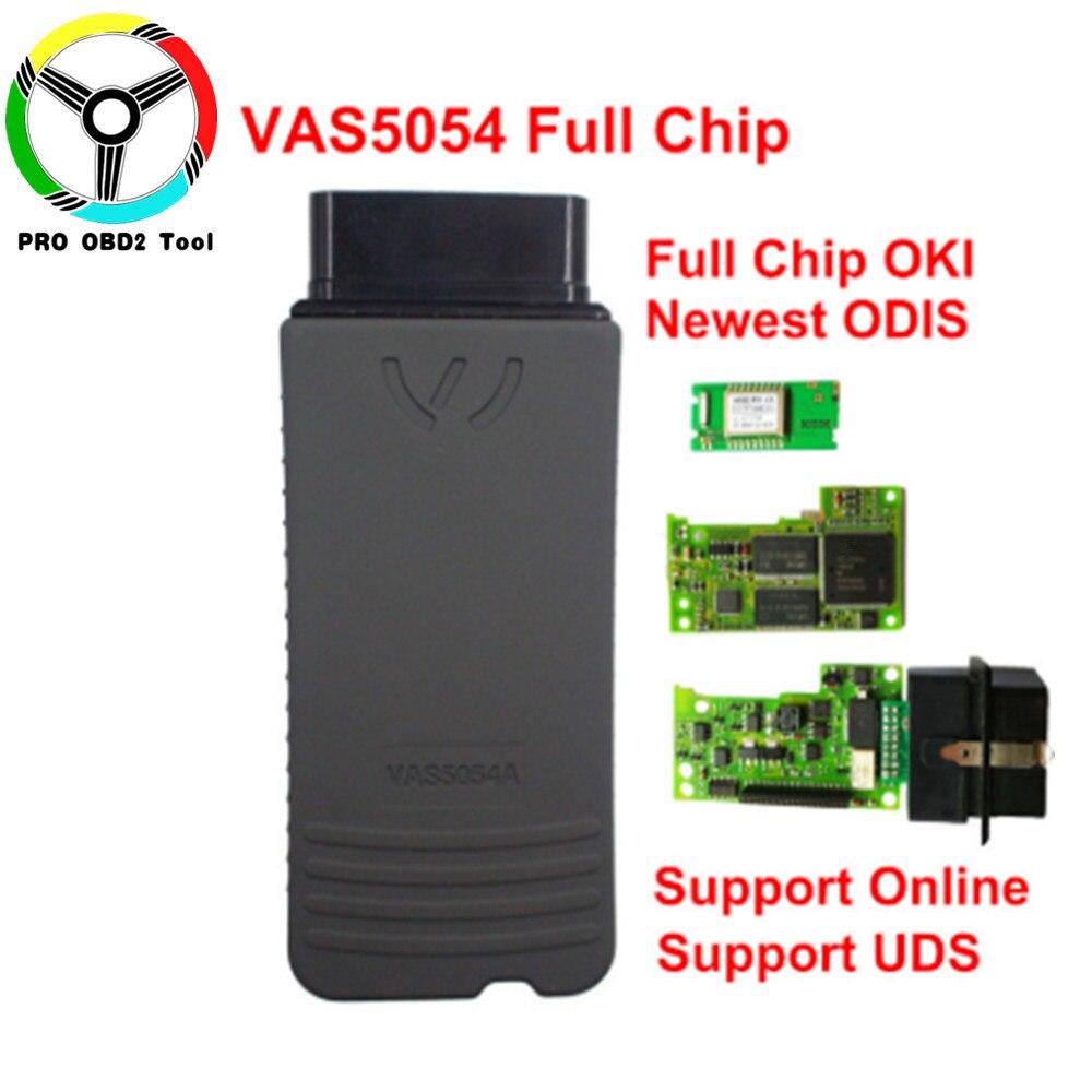 Perfect Version OKI Full Chip VAS 5054A ODIS V4.13 Bluetooth VAS 5054 Car Diagnostic Tool For VW Seat Skoda VAS5054 VAG Scanner