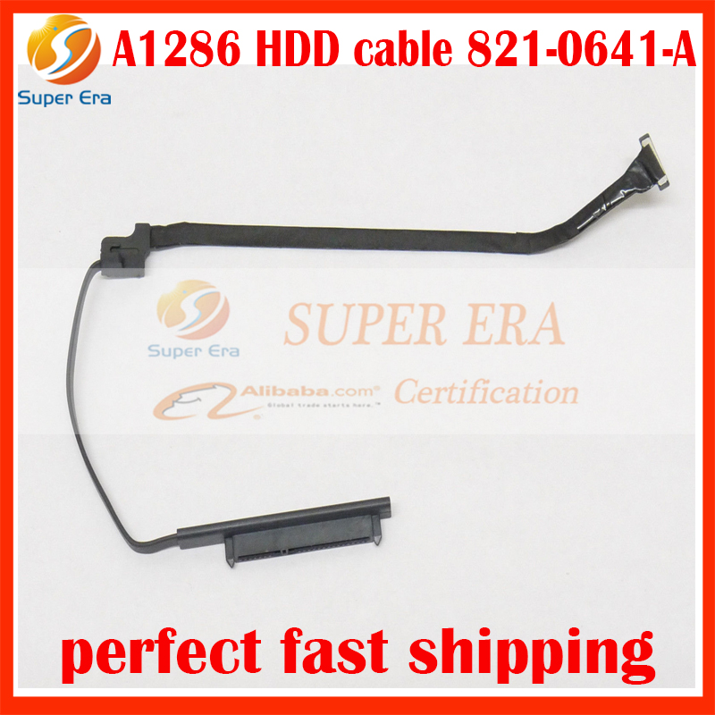 "HDD Hard Drive Sata Cable for Apple A1286 Macbook Pro 15/"" Late 2008"