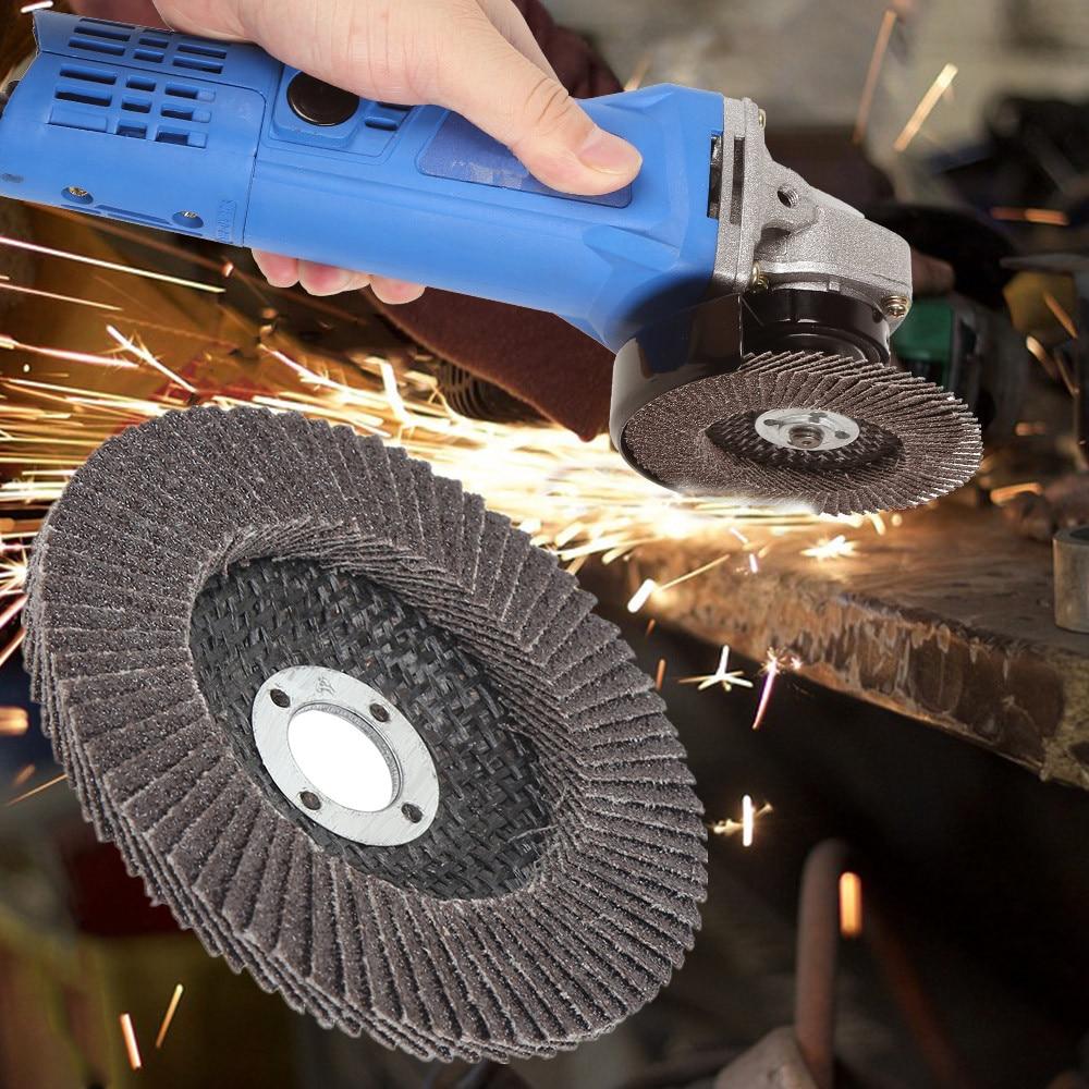20pcs Aluminum Oxide Flap Discs Sanding Wheels Professional Sanding Discs 60/80 Grit Grinding Wheels Blades For Angle Grinder