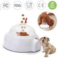 Automatic Dog Feeder Toys Funny Catapult Thrower Puzzle Toy For Dogs Pet Interactive Food Feeding Dispenser Treat Launcher Toy