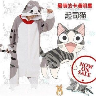 Totoro Cute Cheese Cat Adult Teddy Dinosaur Kids Cartoon Animal Pajamas Apparel Christmas Gifts Warm Cashmere
