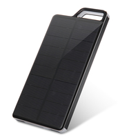 PowerGreen Cell Phone Power Bank 10000mAh Li polymer Battery Charger Solar Panel Battery Backup for Phone