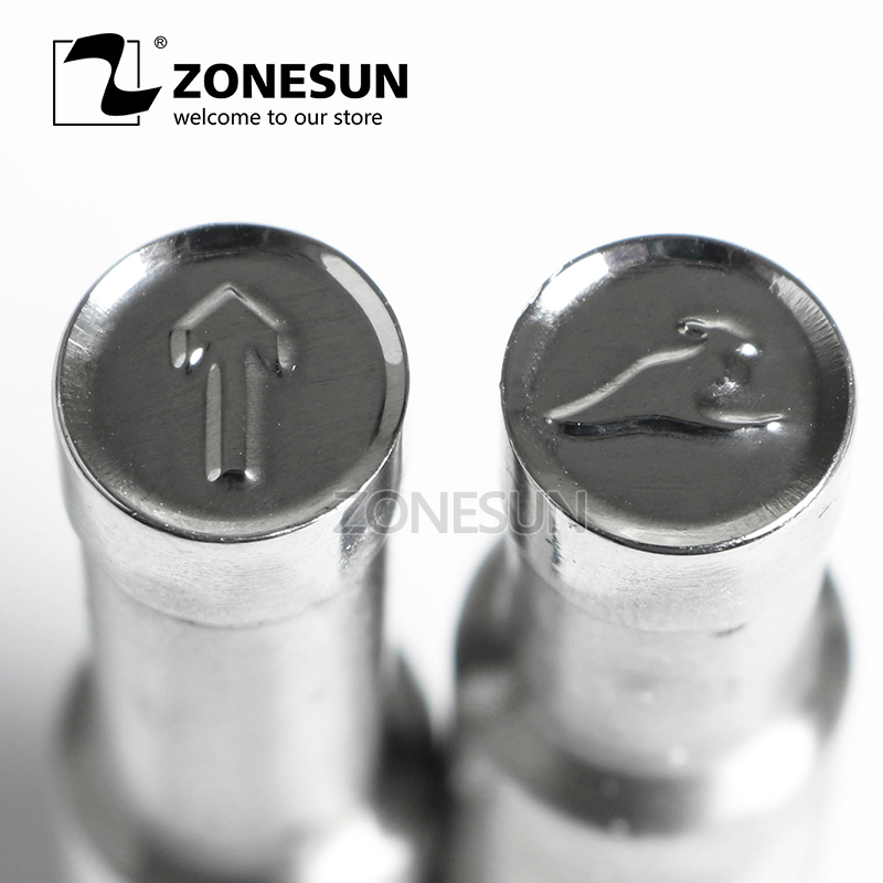 ZONESUN Kangaroo Single Tablet Punch Mould Press Steel Custom Hole Stamp Die Milk Tablet Die Logo For TDP0 1.5 3 5 Machine цена