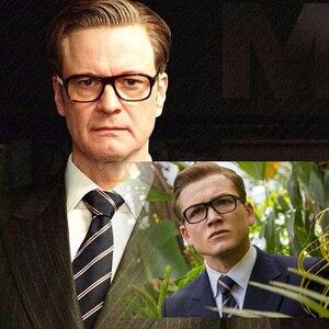 Image 2 - Kingsman แว่นตา Golden Circle Secret Service Kingsman แว่นตา Harry เอ็กซี่แว่นตา TOP Acetate กรอบสไตล์อังกฤษแว่นตา