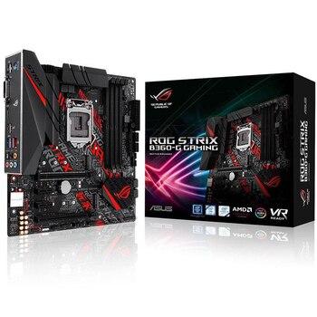 Asus STRIX B360-G الألعاب سطح اللوحة إنتل B360 المقبس LGA 1151 8th GenCore i7/i5/i3/بنتيوم /سيليرون RGB