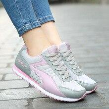 2016 Womens sport font b Shoes b font Mens Walking font b Shoe b font Female