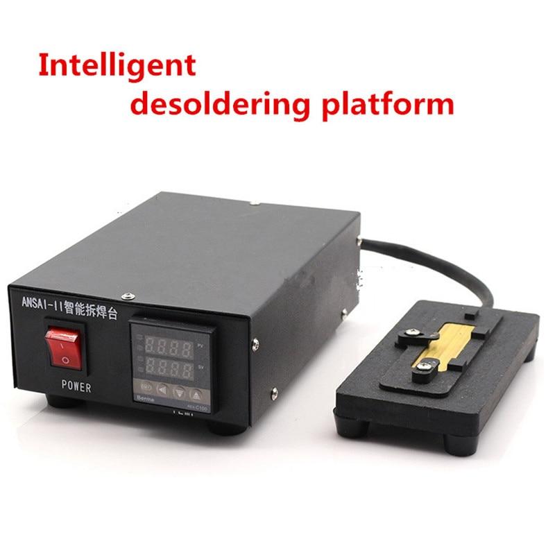 Intelligent desoldering platform No need air guns Low temperature A8 A9 CPU Motherboard Debonder Dismantle Mobile Repair Tool