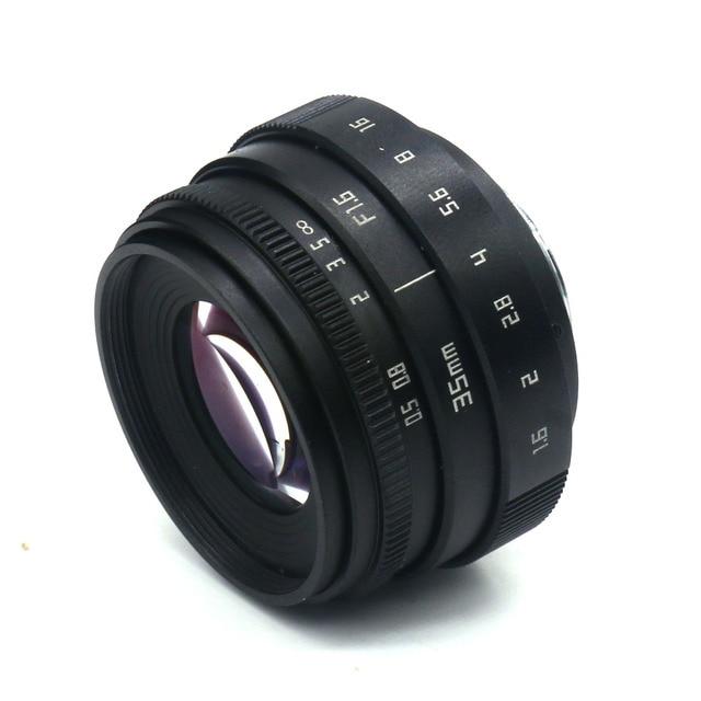 NEW Fujian 35mm F1.6 CCTV TV II Movie lens + C Mount for Canon EOS M  Mirrorless camera 8
