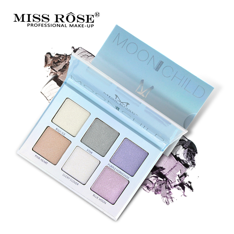 все цены на Miss Rose Brand Highlighter Face Brighten Concealer Glitter Palette Shimmer Bronzer Highlighter Base Makeup Cosmetics