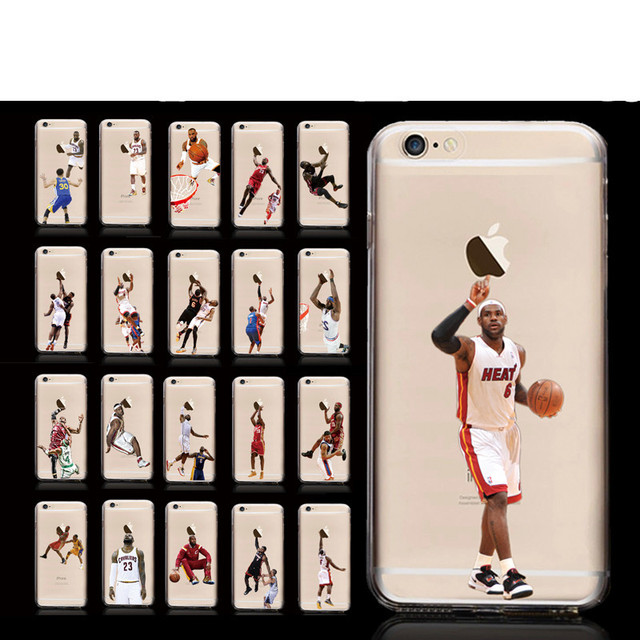 detailed look ad49b 3417d US $1.2 |Cool!Classic play basketball people pattern PC material frosted  back cover for iphone 6 plus phone cases on Aliexpress.com | Alibaba Group