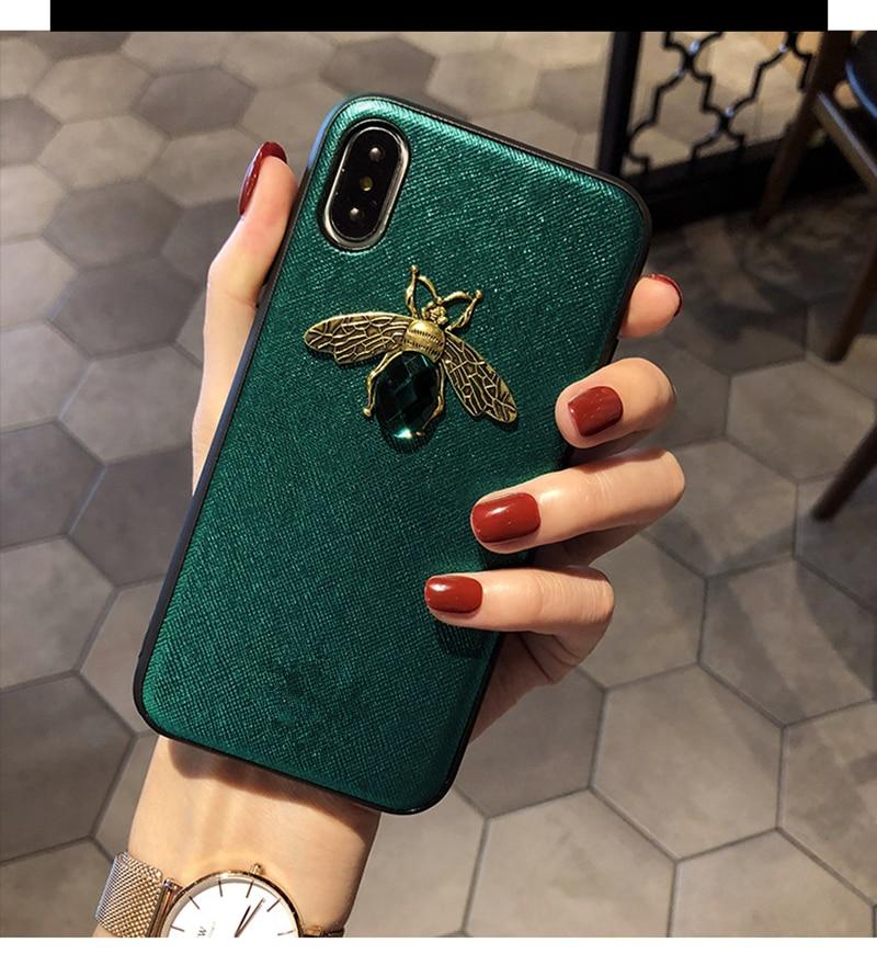 Diamond Bee Case for iPhone SE (2020) 34