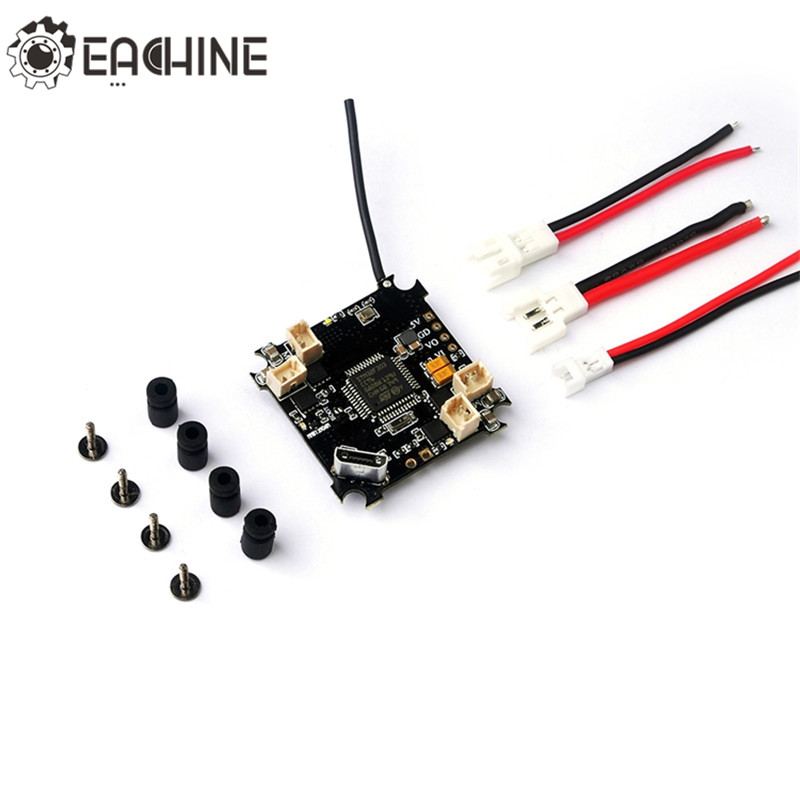 High Quality Original Eachine Beecore V2.0 D16 Brushed F3 OSD Flight Controller for E010 E010S Accs f cloud f3 whoop pro integrated osd has brush flight control compatibility horizon inuctrix e010 e010s