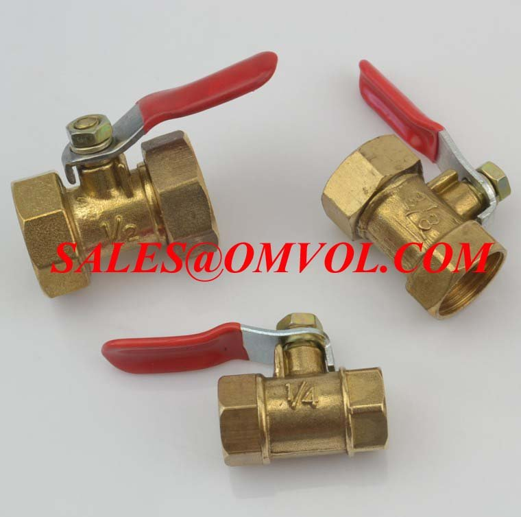 pneumatic fittings ball valve 14'