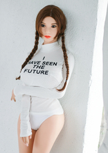 Japanese silicone sex doll real pussy big boobs lifelike love doll 165cm with D-cup
