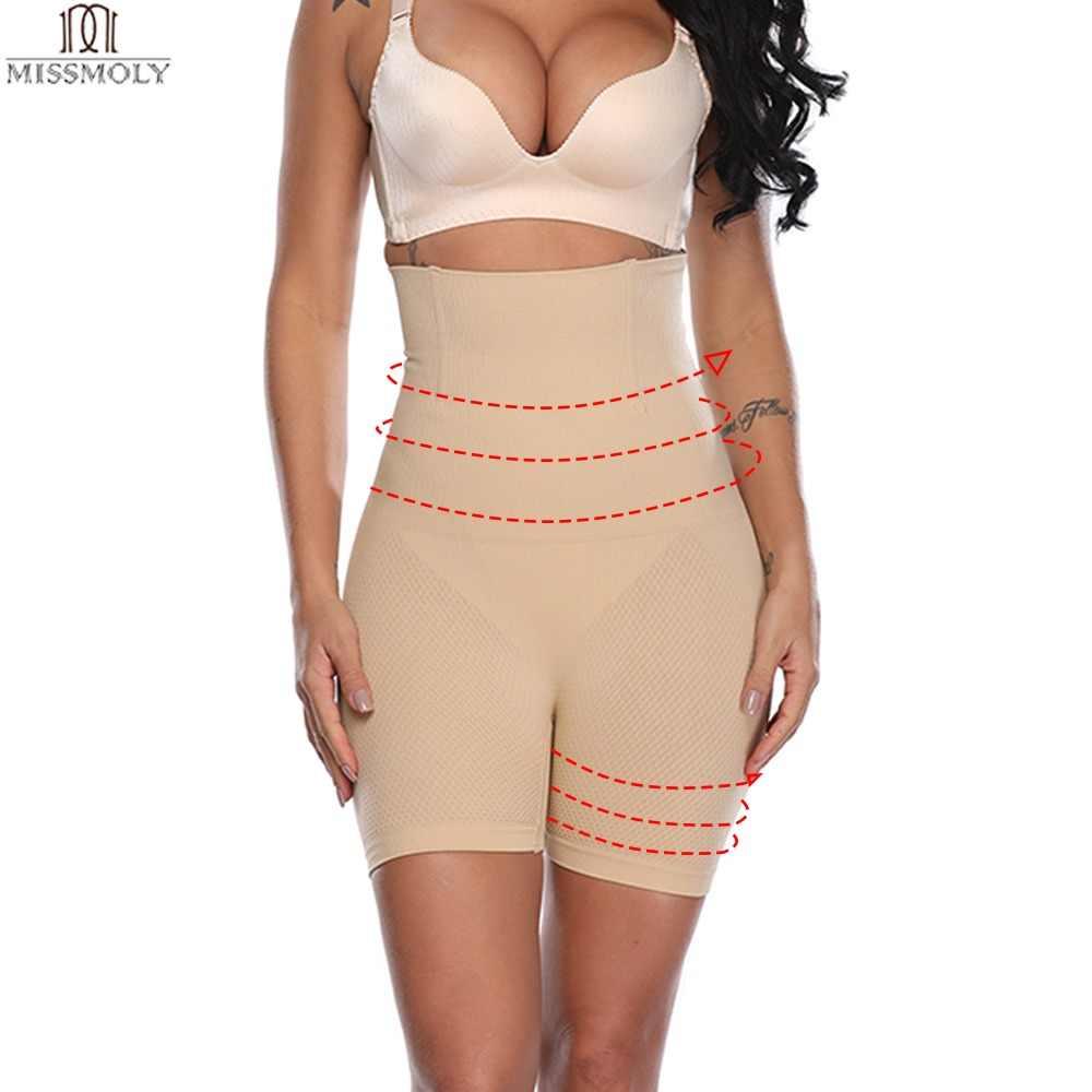 dfc417c2cb8 Miss Moly Thigh Slimming Body Shaper Tummy Control Shapewear Waist Cincher  Pulling Underwear Butt Lifter Panties