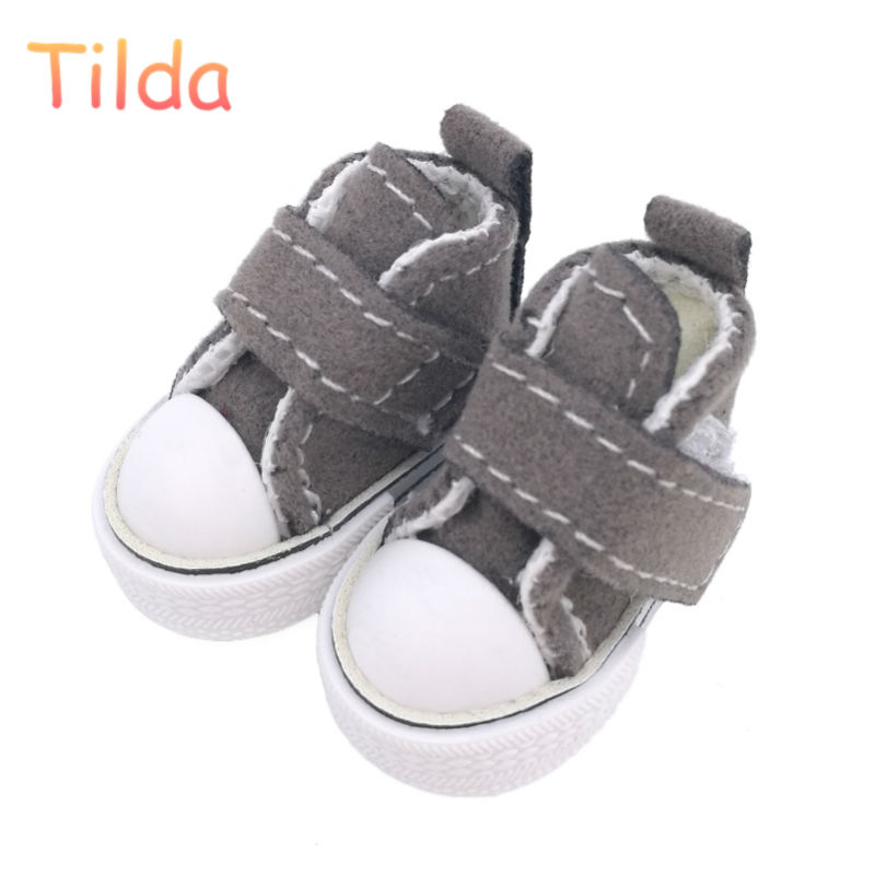 Tilda 3.5cm Blyth Doll Shoes for Blythe BJD Toy,1/6 Mini Lovely Shoes for BJD,Casual Boots For Blyth Accessories for Dolls Toy цена