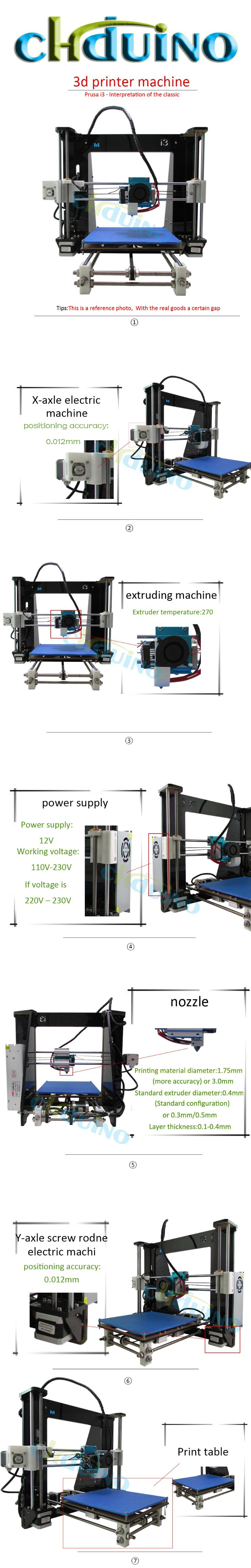 Desktop Acrylic Frame High Precision Lcd Prusa I3 3d Printer Machine Stable Filament Supply We Will Send You Two Rolls Of Pla Once Place Order Is Extracted From Corn It And Environmental