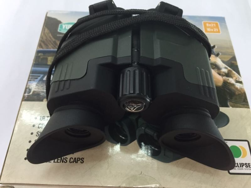 Original Yukon 22142 binocular 10x portable Binocular sideview 10x21 telescope pocket-size Binocular 200g/ea Fast shipping